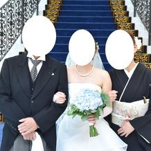 母と義母にもお揃いのヘッドパーツ
