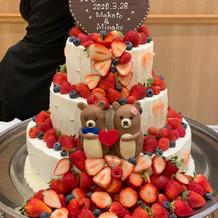 ウエディング ケーキ