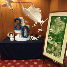 30周年記念の飾り付け