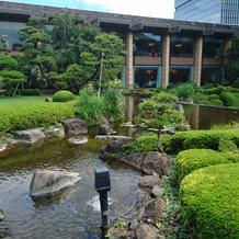景色、庭園
