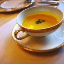 かぼちゃスープ♪かぶスープと迷いました!