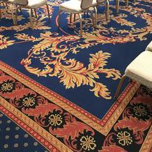 フロアのカーペット。可愛いです。