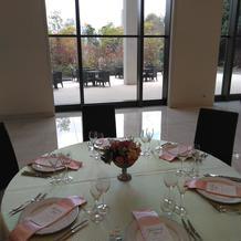 テーブルコーディネートによる祝宴の演出