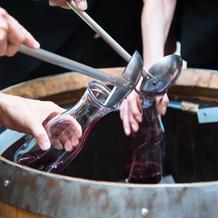 ワイン樽開き