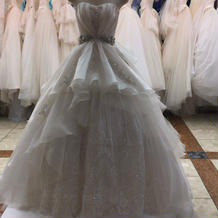 アリエルのウエディングドレス。