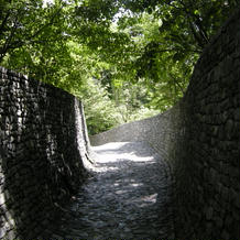 教会までの小道