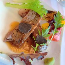 国産牛サーロインと季節の焼き野菜