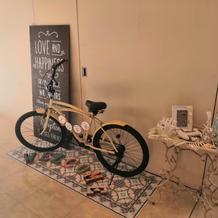 オプションの自転車