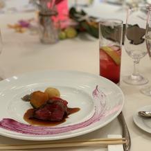 国産黒毛牛ヒレ肉のグリエと季節野菜