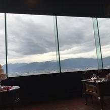 晴れてると富士山が見えるそう