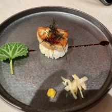 フォアグラ寿司です