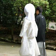 下鴨神社は白無垢を着ました