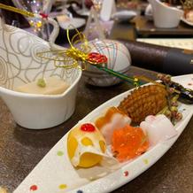 和食かフレンチをゲストが選択