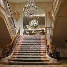 大階段は圧巻でした。