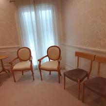 新郎新婦の挙式待機室