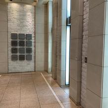 一階のエレベーターホール