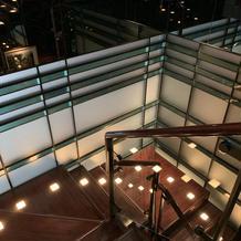8階と9階をつなぐ階段