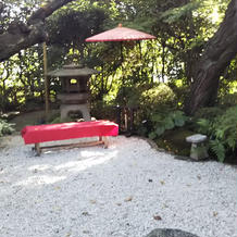 和風のお庭です。写真が映えます。