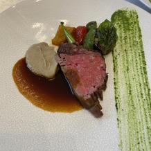 お肉料理(牛フィレ)