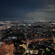 会場(レインボー)からの夜景