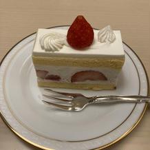 フェアで頂いたケーキ