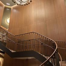 フォトスポットの階段