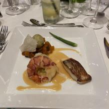 フリ ド メール オマール海老 真鯛
