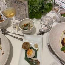 手毬寿司と鯛茶漬け 手毬寿司が好評