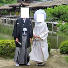 紋付袴・白無垢(綿帽子あり)