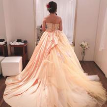 ドレス試着1