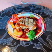 肉料理(仔牛ロース)