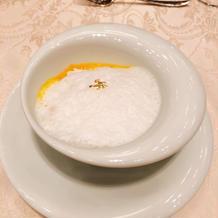 季節のスープです