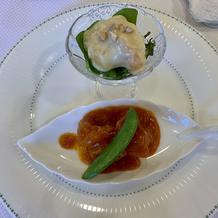 海老のチリソース煮と海老のマヨネーズ和え