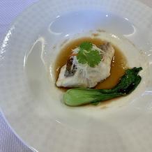広東風真鯛の葱・生姜蒸し