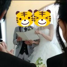 手作りの結婚証明書1
