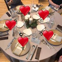 テーブル全景