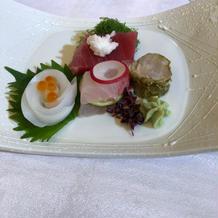 和洋折衷料理にしました