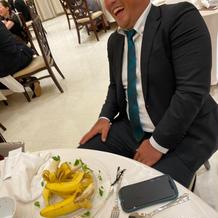 特別な方に、バナナを。。笑