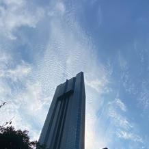 ここの46階がスカイチャベルです!