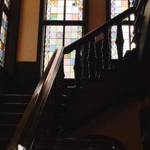 建物内ステンドグラス