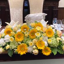 高砂のメインのお花です(8万円)