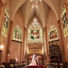 挙式会場として使用した教会