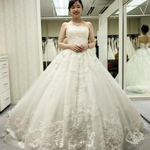 運命のドレス