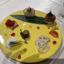 フォアグラ寿司が美味しかったです。