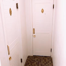 3階のお手洗いは男女同じ入り口です