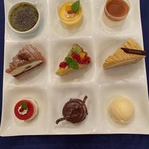9種類のデザート