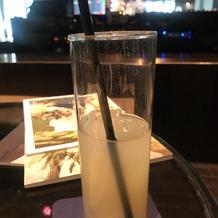 グラスの水垢が結構気になった
