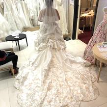 プラン外8万円ドレス
