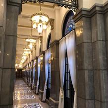 廊下も素敵です。