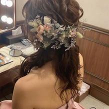 持ち込みのヘッドドレス